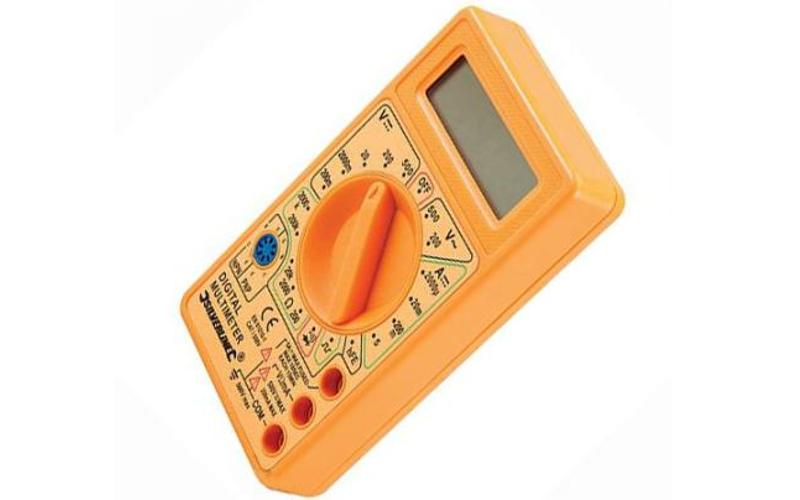 Merk Multimeter - Silverline - Batterij